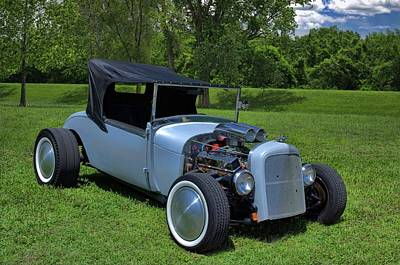 Photograph - 1928 Ford Model A Roadster Hot Rod by Tim McCullough