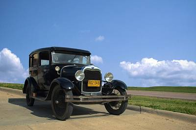 Photograph - 1929 Ford Model A Sedan by Tim McCullough