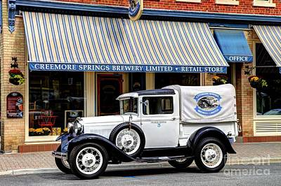 Photograph - 1929 Ford Model A Truck by Bryan Davies
