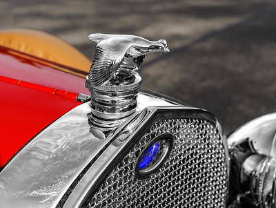 Photograph - 1929 Ford Radiator Cap Ornament by Frank J Benz