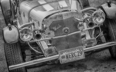 Photograph - 1929 Mercedes Benz  7d02586b by Guy Whiteley
