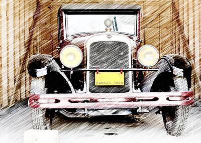 Photograph - 1929 Nash  by Liane Wright