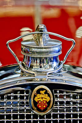 Photograph - 1929 Packard 8 Hood Ornament 2 by Jill Reger