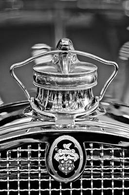 1929 Packard 8 Hood Ornament 4 Art Print