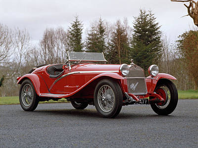 1930 Alfa Romeo Supercharged Tipo Art Print