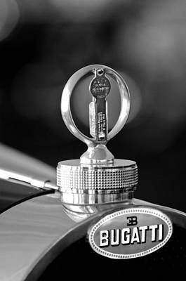 Photograph - 1930 Bugatti Hood Ornament by Jill Reger