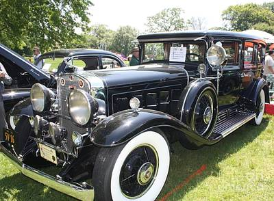 1930 Cadillac V-16 Imperial Limousine Art Print