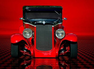 Photograph - 1930 Chevrolet Custom Sedan Hot Rod by Tim McCullough