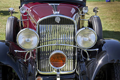 Photograph - 1930 Chrysler Model 77 by Jack R Perry