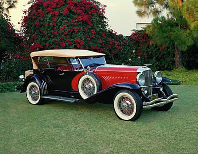 Expensive Photograph - 1930 Duesenberg Model-j Dual Cowl Sweep by Panoramic Images