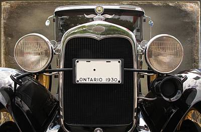 Photograph - 1930 Ford Model A by Davandra Cribbie