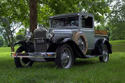 Photograph - 1930 Ford Model A Pickup Truck by Tim McCullough