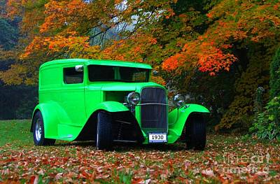 Photograph - 1930 Ford Sedan Delivery Truck  by Davandra Cribbie
