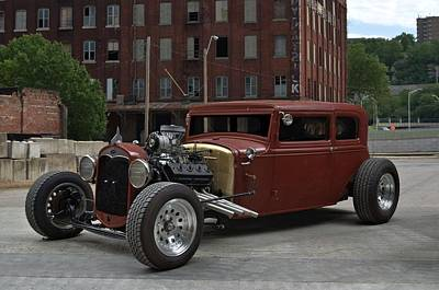 Photograph - 1930 Ford Sedan Hot Rod by Tim McCullough