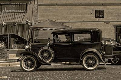 Photograph - 1930 Ford Sedan by Tim McCullough