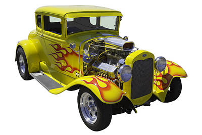 Photograph - 1930 Model A Custom Hot Rod by Keith Webber Jr