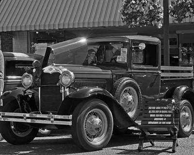 Photograph - 1930 Model A Pu Truck by Tikvah's Hope