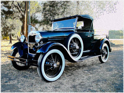 Photograph - 1930 Ford Model A Truck by Glenn McCarthy