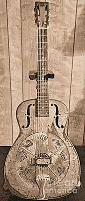 Photograph - 1930 National Duolian by Classic Spokes And Strings