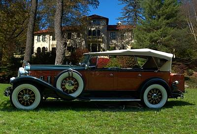 Photograph - 1930 Packard 7 Passenger Touring Car by Tim McCullough