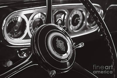 Photograph - 1930 Packard by Dennis Hedberg