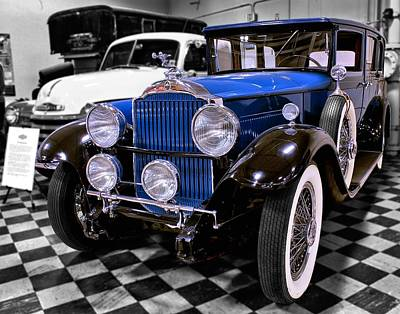Animal Paintings David Stribbling Royalty Free Images - 1930 Packard Limousine Royalty-Free Image by Michael Gordon