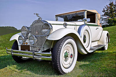 Auto Photograph - 1930 Packard Standard Eight 733 Convertible Coupe by Marcia Colelli