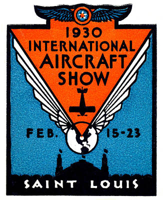 Painting - 1930 St. Louis International Air Show by Historic Image