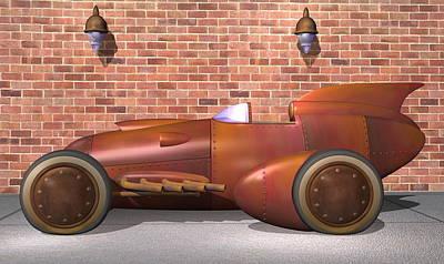 1930 Streamliner Original by Stuart Swartz