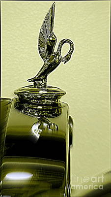 Photograph - 1930 Studebakers Hood Ornament  by Kay Novy