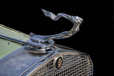 Digital Art - 1930s Cadillac Goddess Hood Ornament by Chris Flees
