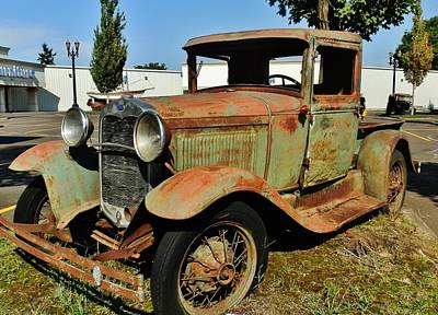 Photograph - 1920s Ford Pick-up Truck by VLee Watson