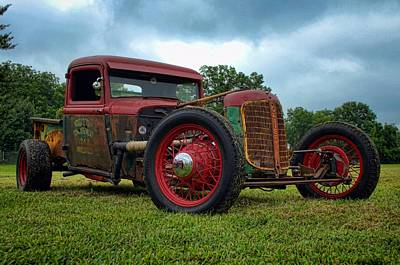 Photograph - 1930s Oliver Rat Rod by Tim McCullough