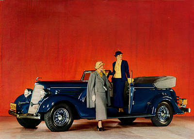 1930s Usa Buick Magazine Advert Detail Art Print