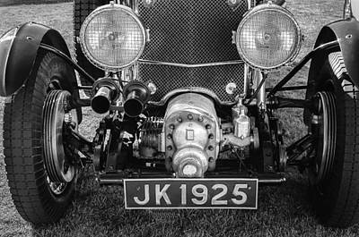 Photograph - 1931 Bentley 4.5 Liter Supercharged Le Mans Grille by Jill Reger