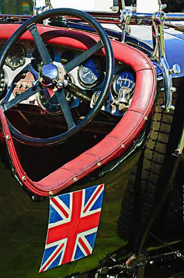 1931 Bentley 4.5 Liter Supercharged Le Mans Steering Wheel -1255c Art Print
