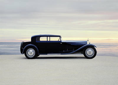 1931 Bugatti Type 41 Royale Coupe Art Print by Panoramic Images