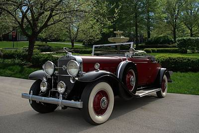 Photograph - 1931 Cadillac Roadster V12 by Tim McCullough