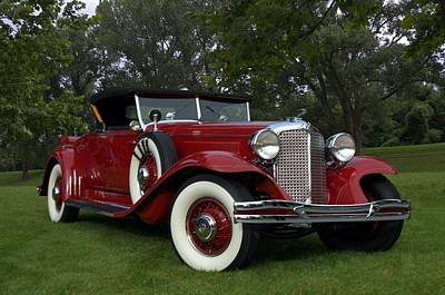 Photograph - 1931 Chrysler Cg Imperial Lebaron Roadster by Tim McCullough