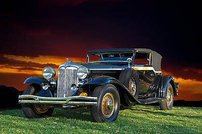 Hubcap Photograph - 1931 Chrysler Imperial Cg by Dave Koontz