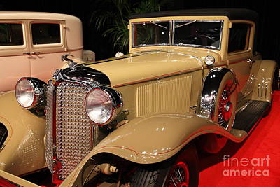 Photograph - 1931 Chrysler Imperial Gc Custom Line Coupe 5d26814 by Wingsdomain Art and Photography