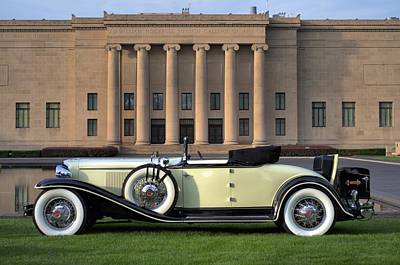 Photograph - 1931 Cord L29 Cabriolet by Tim McCullough
