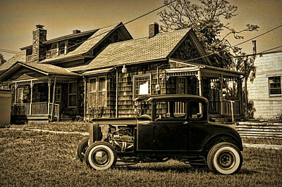 Photograph - 1931 Ford 5 Window Coupe Hot Rod by Tim McCullough