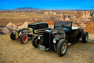 Photograph - 1931 Ford Hot Rods by Tim McCullough