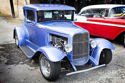 Photograph - 1931 Ford Model A Classic Car Complete In Color 3211.02 by M K Miller
