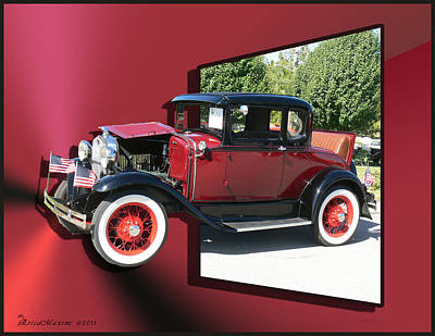Photograph - 1931 Ford Model A by Ericamaxine Price