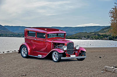 1931 Ford Model A Sedan Art Print by Dave Koontz