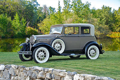 Model A Sedan Photograph - 1931 Ford Model A Victoria IIi by Dave Koontz