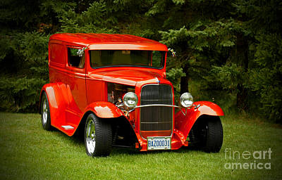 1931 Ford Panel Delivery Truck Art Print by Inspired Nature Photography Fine Art Photography
