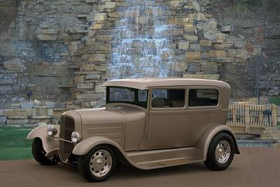 Photograph - 1931 Ford Sedan Custom Hot Rod by Tim McCullough
